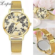 lvpai femmes montre bracelet quartz horloge cadeau robe de dames