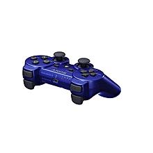 manette playstation 3 avec câble - bleu