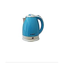 bouilloire electrique - 2 litres - bleu