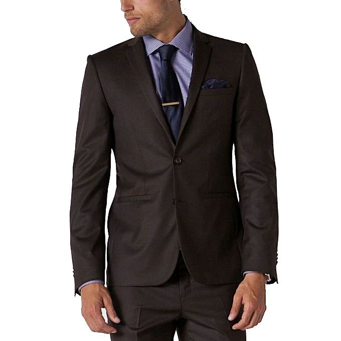 white label ensemble costume homme marron fonc acheter en ligne jumia senegal. Black Bedroom Furniture Sets. Home Design Ideas