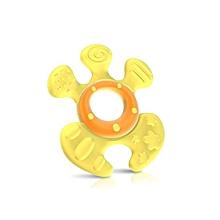 hochet de dentition softees™ avec boîte - 6m+ - jaune