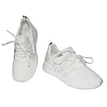 baskets femme - coupé - blanc