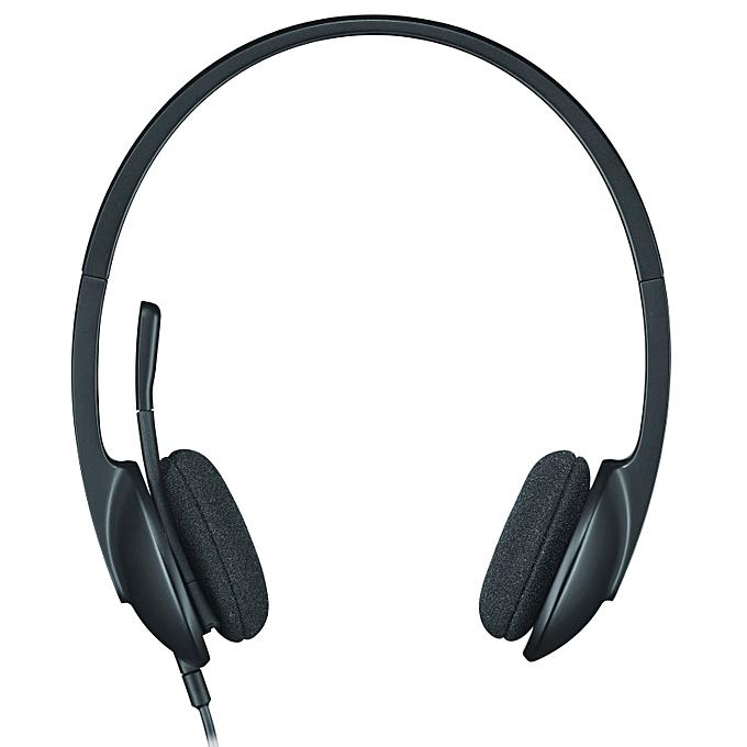 Logitech Casque Usb H340 Avec Microphone Anti Parasite Noir