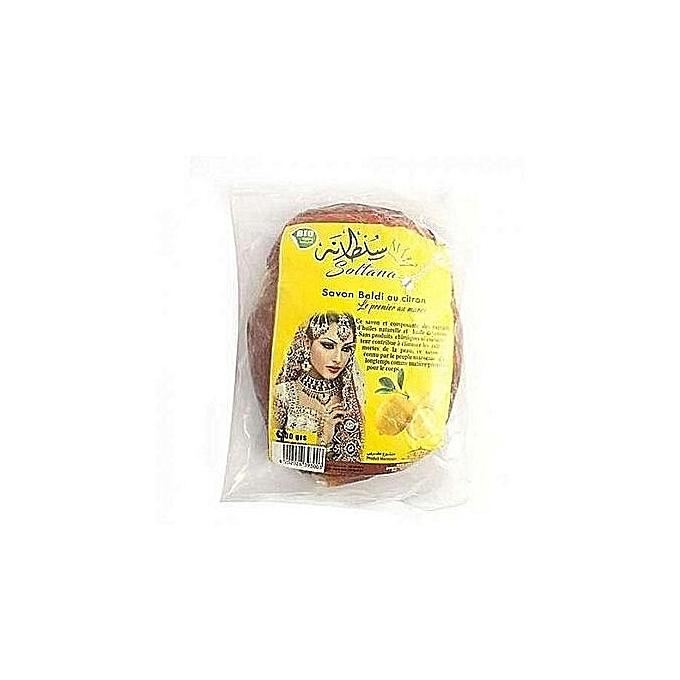 Savon noir pur au citron 380 gr fabriqu au maroc for Meuble au senegal
