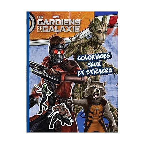 White Label Les Gardiens De La Galaxie Coloriages Jeux Et