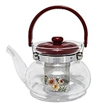 bouilloire - théière en verre - 0.5 litre - résistants à la chaleur
