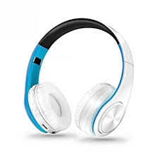 folding wireless bluetooh headphone with microphone tf card slot mp3 player headset for iphone x 8 7 plus