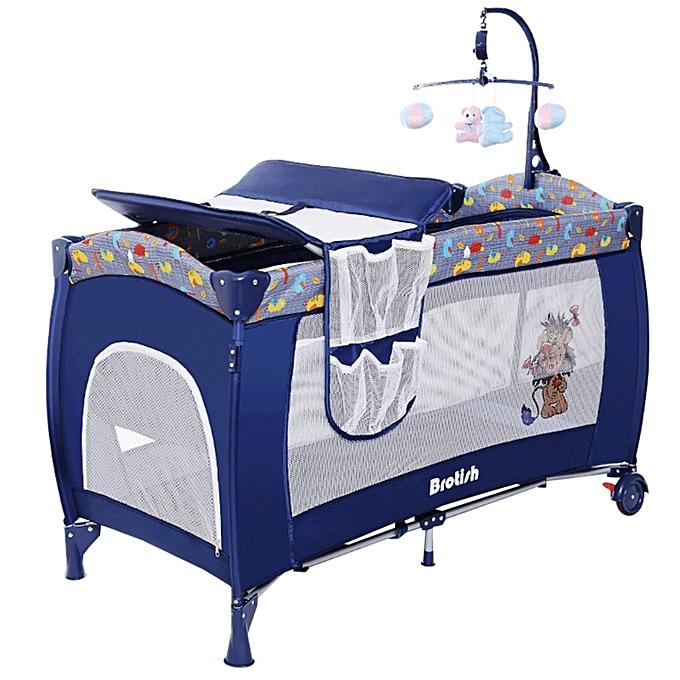 welcom et autres lit pliant b b moustiquaire bleu jumia s n gal autres produits pour b b. Black Bedroom Furniture Sets. Home Design Ideas