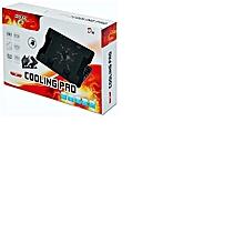 refroidisseur pour ordinateur portable 12 à 17.3 pouces,refroidisseur pc portable gaming avec 1 ventilateurs silencieux et noir led lumières,refroidissement rapide,équipé de 2 usb ports,réglage de la hauteur à 5 niveaux