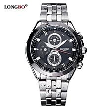8650 hommes de luxe montres bracelet en acier inoxydable sport quartz montre-bracelet homme alliage loisirs homme montre
