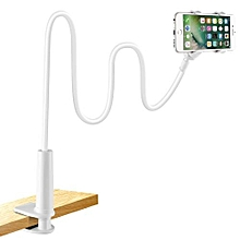 support téléphone avec col de cygne de, support de téléphone pliable rotation 360° réglable pour iphone/samsung/huawei/google pixel et plus 90 cm de longueur