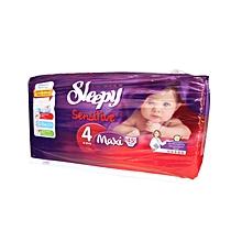 couches bébé taille 4 maxi (8 à 18 kg) - 45 couches
