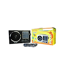 la petitecaverne - radio rechargeable - fm am sw 1-9 usb mp3 tf - alimentation piles/secteur rechargeable