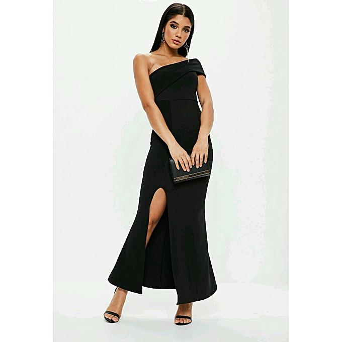 4d1b823a792 Generic Robe moulante noir Longue (made in Sénégal) - Prix pas cher ...