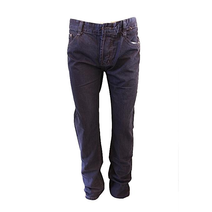 white label pantalon jean grande taille homme bleu. Black Bedroom Furniture Sets. Home Design Ideas