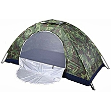 tente igloo/camping camouflage - 4 places - vert militaire