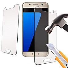 samsung galaxy a5 2017 qualité premium véritable trempé protecteur d'écran protection en verre trempé d'explosion et incassable pour samsung galaxy a5 2017 (clair)