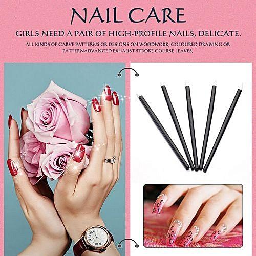 Nail Tools Painting Pen Flower Pen Nail Supplies Diy Carving Nail Pen Black