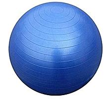 ballon de yoga kabalo - bleu - 65 cm