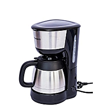 machine à café 1 litre - cm4313am-gs - 900w - gris/noir -