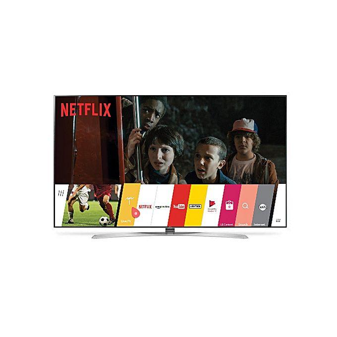 lg t l viseur 75uh855v 75 pouces smart tv led 4k ultra hd 3840 x 2160 pixels garantie. Black Bedroom Furniture Sets. Home Design Ideas