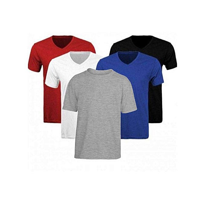 White Label Offre spéciale   Pack de 5 Tee-shirt en Coton Homme ... ed92e92af648