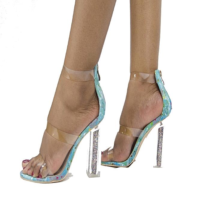 Sergio Todzi Chaussures à Talons Femme - Bleu - Prix pas cher  145d046d274