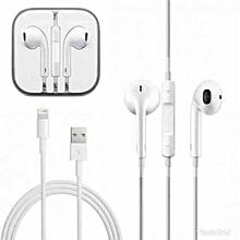 écouteur  iphone 7 avec cable origine