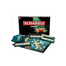 jeu de scrabble portable générique multicolore