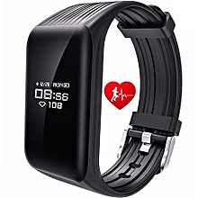 hot sale k1 smart bracelet fitness tracker smart wristband ip68 waterproof oled 24h heart rate monitor bluetooth message sync notice remind sports passometersmart band for android ios phone gt0009