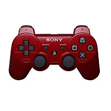 manette playstation 3 avec câble - rouge