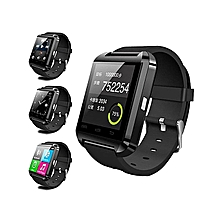 montre connectée - u8 - compatible android - bluetooth - noir