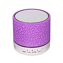 mini enceinte bluetooth compatible samsung tablette pc - violet