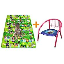 tapis d'éveil pour bébé + chaise enfant