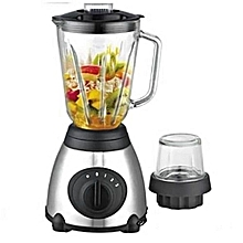 blender mixeur - 3 vitesses - 800 w - noir