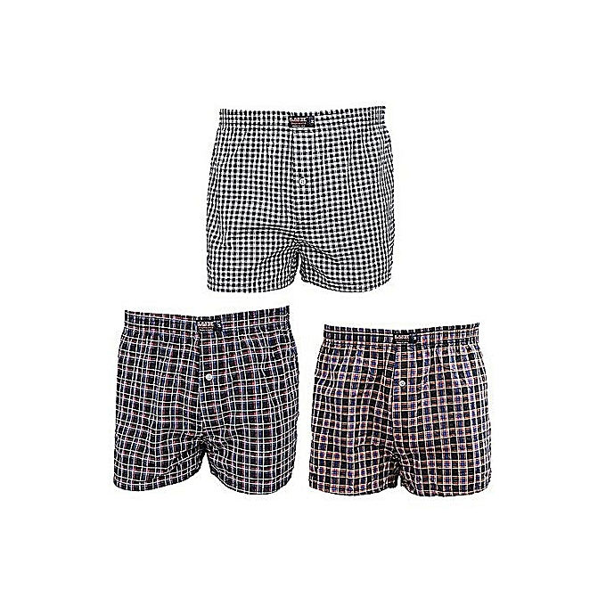 Caleçons Homme 3 De Lot Boxer Shorts Multicolore H9IYDeWbE2