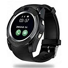 """montre connectée - v8 universel - 1.5"""" - usb 3.0 - noir"""