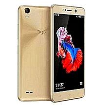 """itel a16 - android 8.1 -ecran 5"""" screen -8go rom + 512mb ram  - 5mp  camera -2050mah  -gold"""