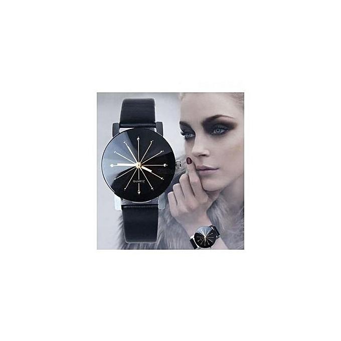 White Label Montre Quartz - Bracelet en Simili Cuir - Pour Femme ... 20c6ce1d0a4