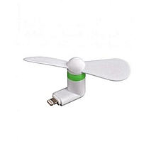 mini ventilateur mobile pour iphone - blanc