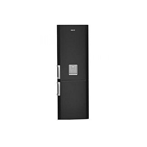 beko r frig rateur combin 2 portes 300 litres cs134021ds garantie 1 an noir classe a. Black Bedroom Furniture Sets. Home Design Ideas