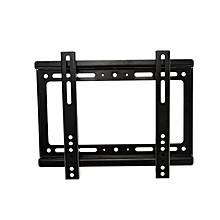 "support mural tv led ( 14"" - 42"" ) - noir"