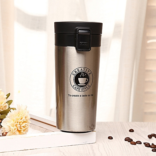 Coffee Water Vacuum Travel Tumbler Bottle Steel Stainless Mug Thermo Flask wONnPk8X0