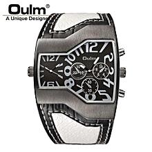 1220 montres de luxe d'hommes de quartz de marque montrent le double temps de montre de sports occasionnels