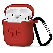 étui airpods - rouge