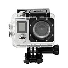 docooler pro caméra embarquée action sport wifi 4k full hd 1080p double écrans 2 pouces - 16 mégapixels - acl objectif grand angle 170°waterproof avec télécommande