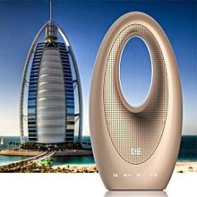 ns-bm2s hifi touch haut-parleur sans fil bluetooth extérieur smart portable dubaï voile hôtel design soutien tf carte mini haut-parleur audio (or)