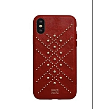 coque iphone xs max - cuir