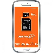 4gb micro sd memory card with adaptor
