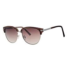 ff648b4782 Lunettes de soleil - rondes - zèbre marron & beige - Chloé eyewear -  acétate